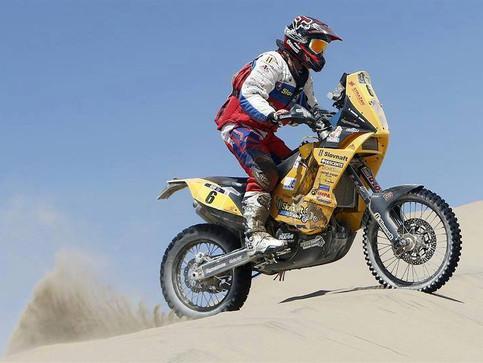 Svitkova cesta za úspechom na Dakare 2016.