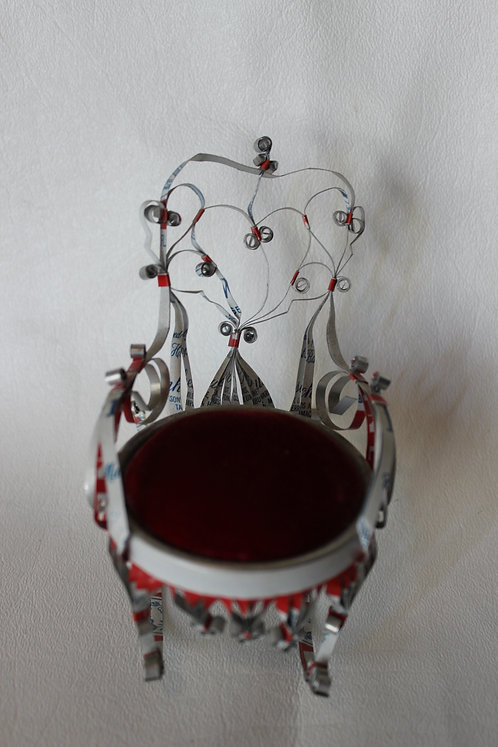 Beer Can Rocking Chair