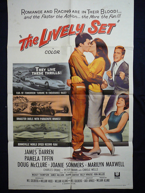The Lively Set (1964) Vintage Movie Poster