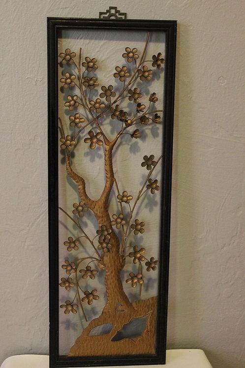 Tin Flower Wall Art