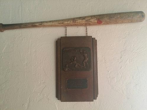 Vintage Baseball Wall Decor