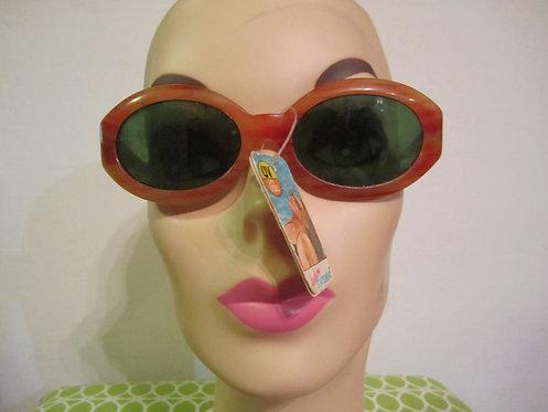 Three Pairs of Wide 1980s Sunglasses