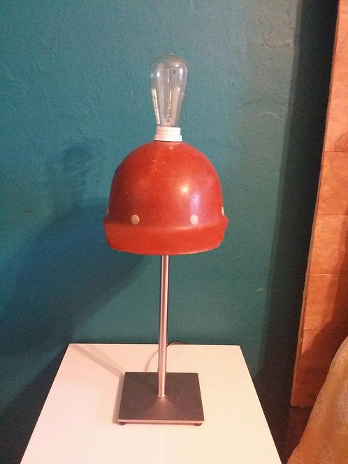 Handmade Vintage Hardhat Lamp