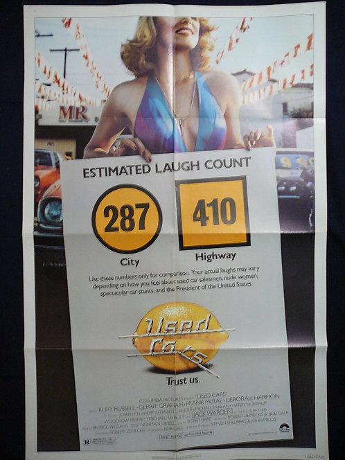Used Cars (1980) Vintage Movie Poster