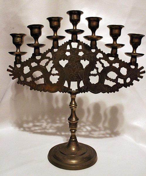 Asian Inspired Shabbat Menorah