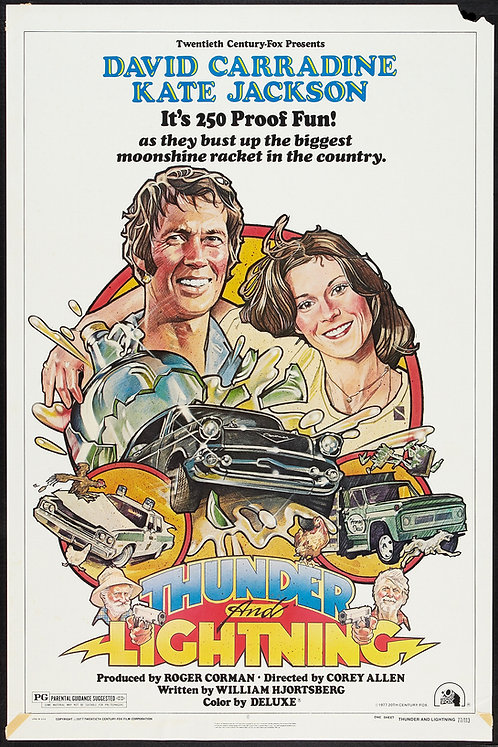 Thunder and Lightning (1977) Movie Poster