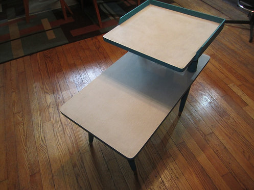 Upcycled 1950s/1960s Side Table