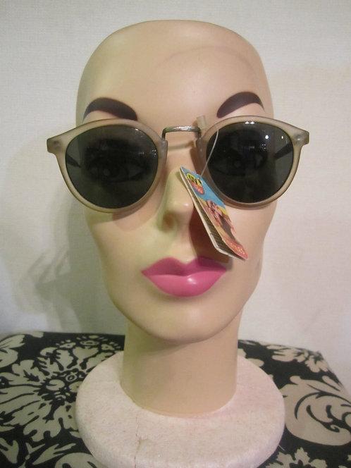 Three Pairs of Round 1980s Sunglasses