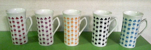 Vintage Espresso Cups (Set of 5)