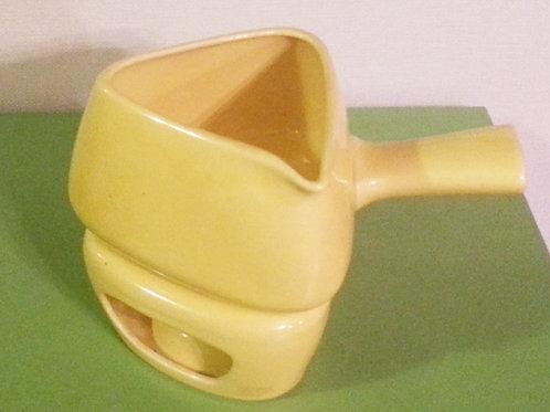 Vintage Fondue Pot and Burner