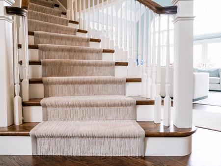 Custom Carpet Stair Runner