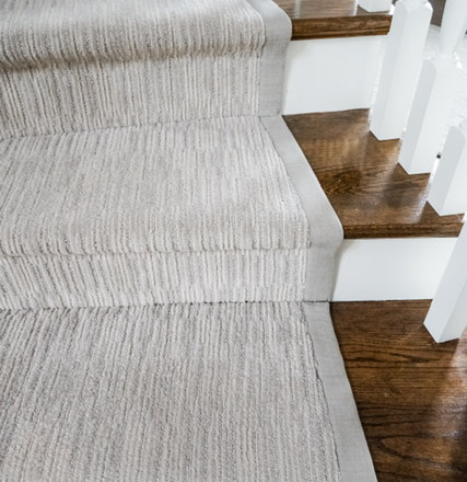 Custom Carpet Stair Runner