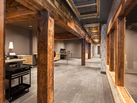 Lake Bluff Illinois Commercial Office Design