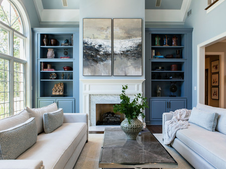 Transitional Great Room Design