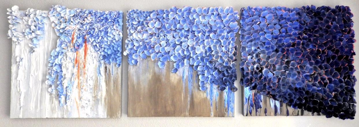 Blue Skies ( triptych)