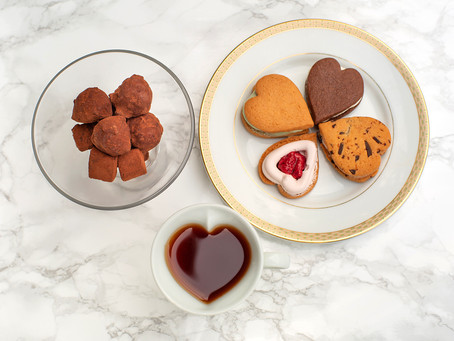 バレンタインに冷やして食べるチョコサブレを贈ろう!