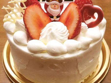 クリスマスケーキのご予約を開始しました!!