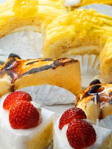 セルクルのケーキ