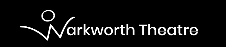 Warkworth Theatre white long logo transp
