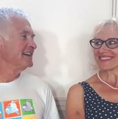 Frank Webb and Amelia Meineke play Alec and Sandra