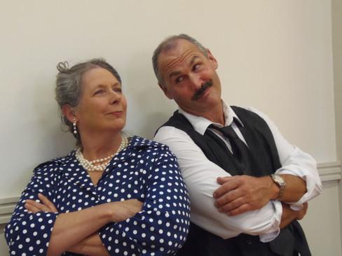 Edith and Rene Artois