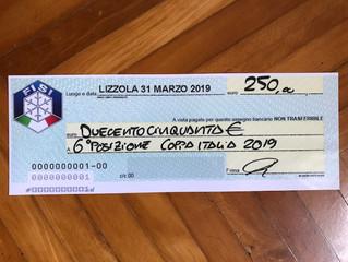 Pagamento premi ad Atleti e Societa'.