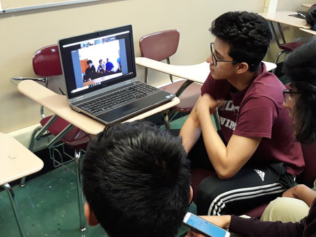Morton East YTC & Durango, Mexico YTC Use Webinar to Collaborate