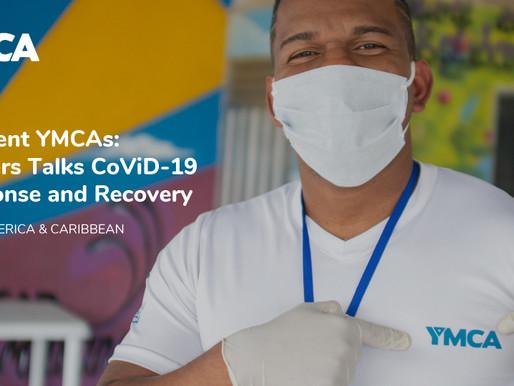 Charla global con líderes YMCA para abordar la crisis del COVID-19