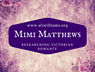 Guestpost:  Researching Victorian Romance