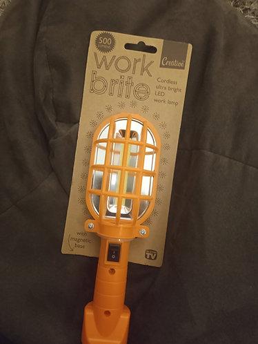 Work Brite LED cordless work lamp