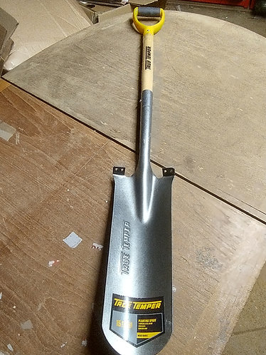 True Temper Planting Spade wooden handle