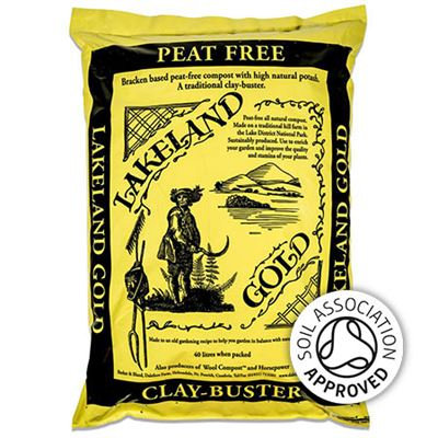 Clay- Buster soil improver Dalefoot  Lakeland Gold peat free.