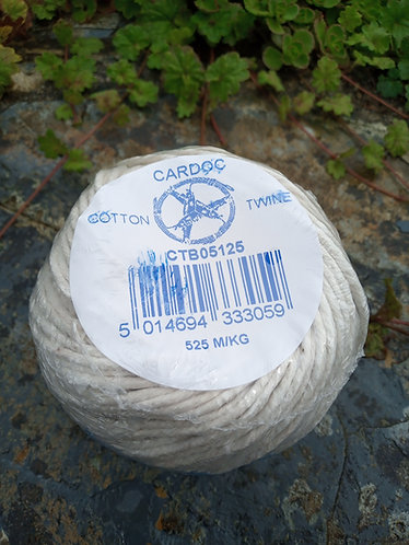 Cotton Twine 125g ball.