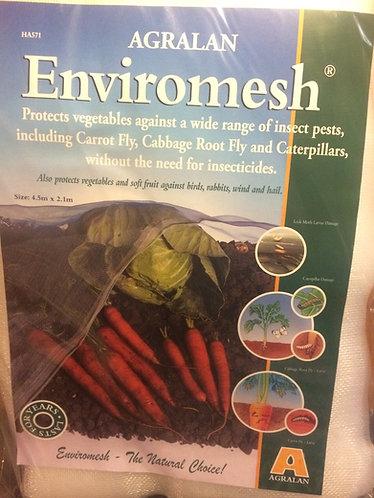 Enviromesh Agralan Enviromesh 4.5m x 2.1m protects veg from wide range of pests