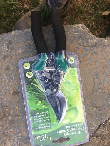 Green Blade Pruners  8 inch  heavy duty   quality carbon steel