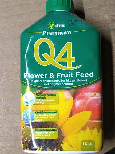 Vitax Q4 liquid all purpose premium plant food