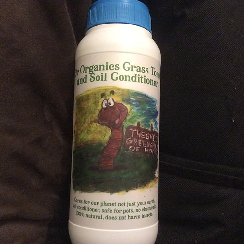 Dr Organic's Soil Conditioner and Grass Tonic