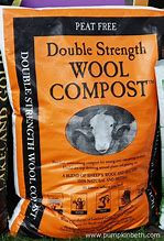 Dalefoot Double Strength  organic  wool compost / fertiliser