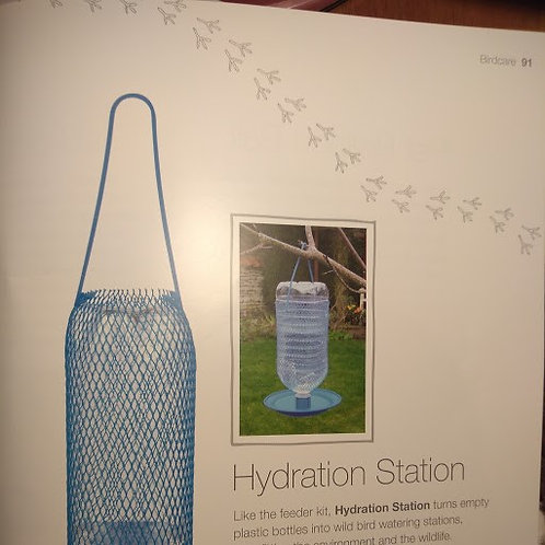 Wild Bird Hydration Station - give the birds a drink in hot weather