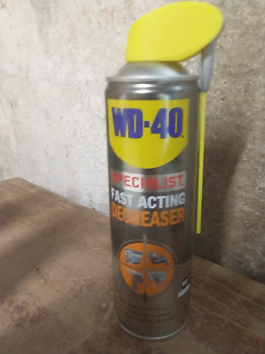 Degreaser  solution fast acting