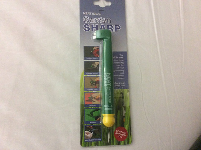 Garden sharp multi purpose sharpening tool