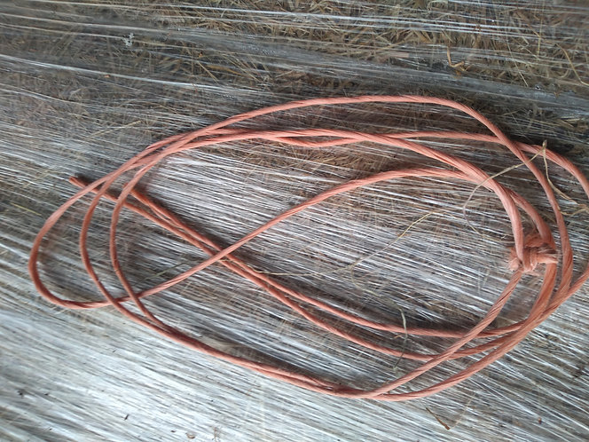 Baler chord/ twine soft plastic texture