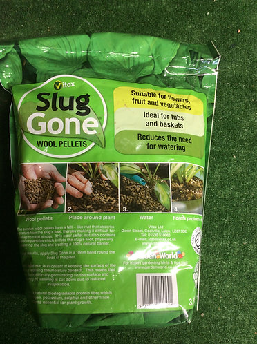 Slug Gone  1 Litre 100 % natural organic wool pellet
