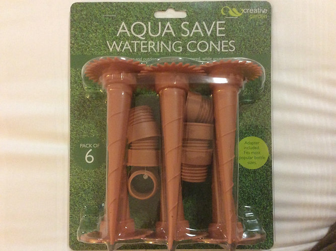 Aqua Save watering cones - eco friendly