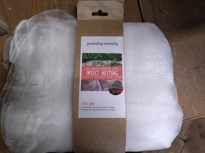 Insect Netting protect fruit and veg 1.83x3m