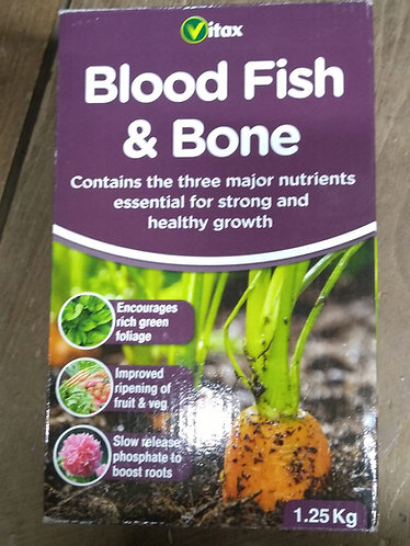 Blood Fish & Bone traditional fertilizer.