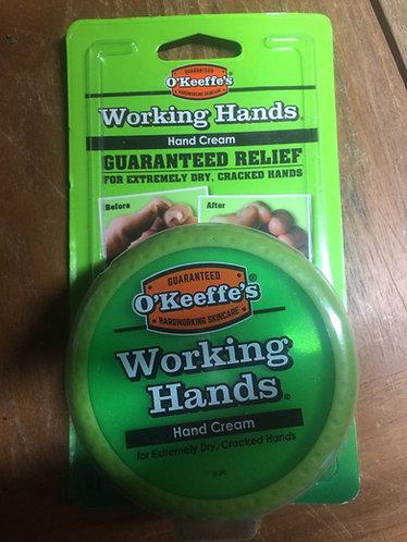 O'keef's working hands hand cream ideal for gardener's in the garden