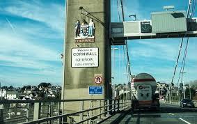 Tamar bridge Devon side