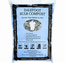 Dalefoot Bulb compost- humus rich slow release nutrients.