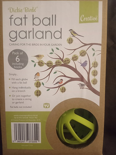Wild  Birds Fat ball garland